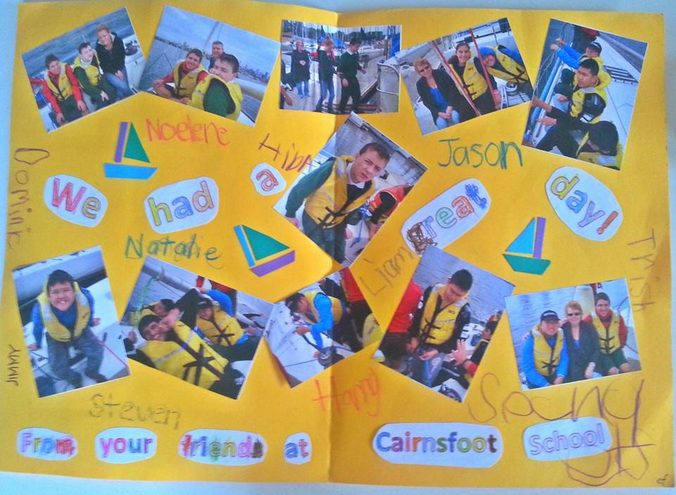 Thank you from Cairnsfoot School