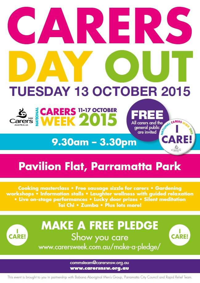 Carer's Day Out Sydney