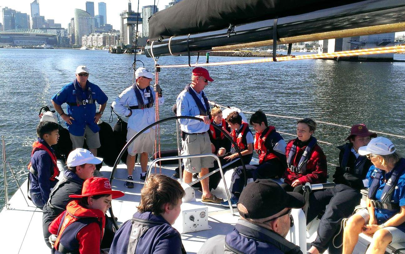 Schools sailing Winds of Joy Melbourne
