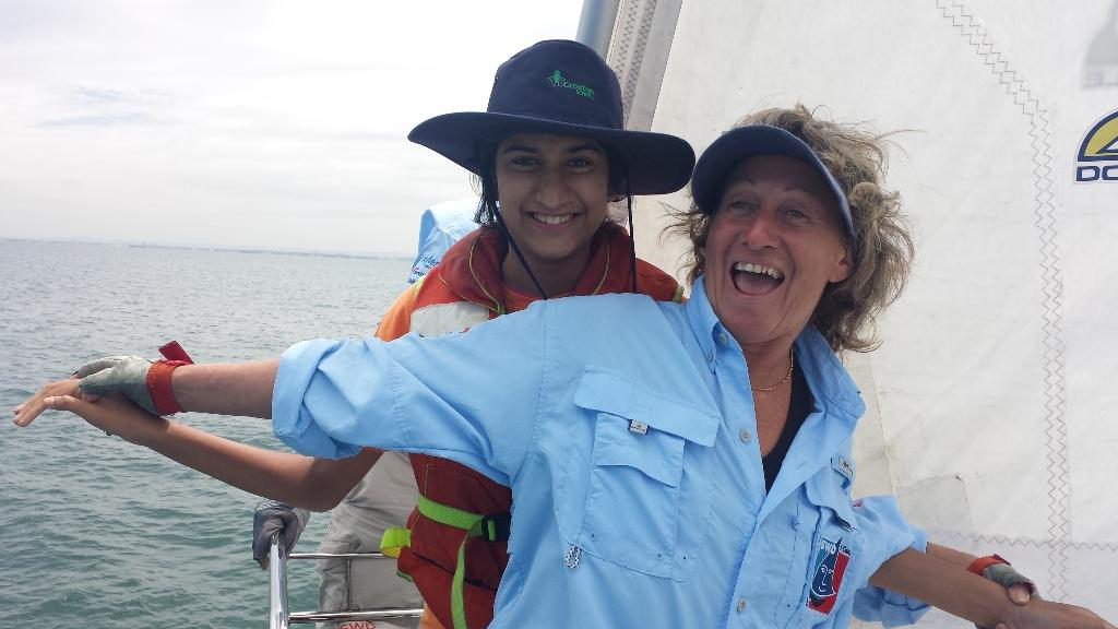 Volunteer on-water with Making Waves Foundation