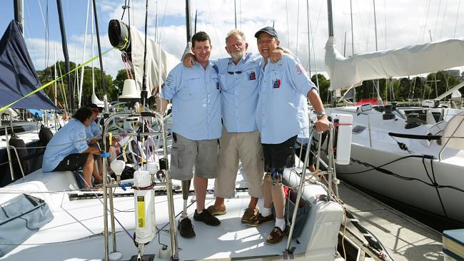 inspirational crew of Wot Eva in the 2014 Sydney to Hobart