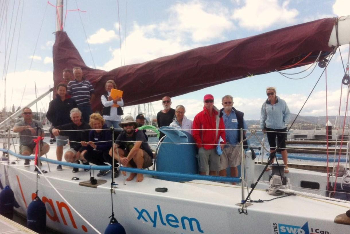 Hobart Volunteers on board Kayle