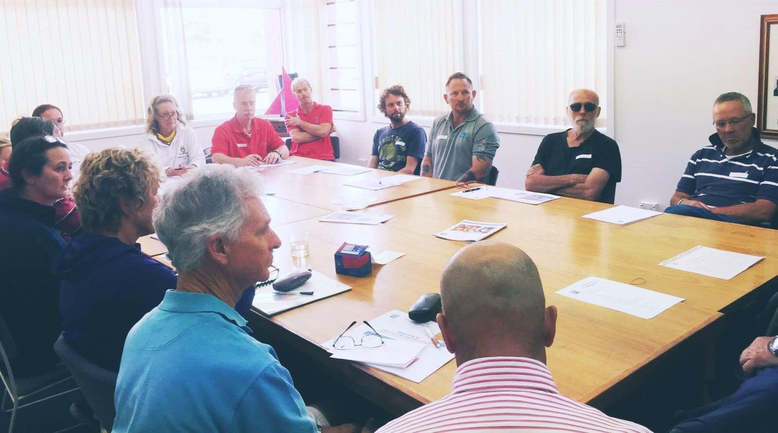 Orientation in Hobart with volunteers
