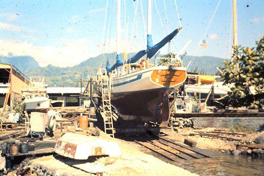 Mercator at Papeete, Tahiti in 1977