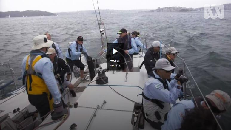 View the 7.30 Report on MWF in the 2019 Sydney to Hobart