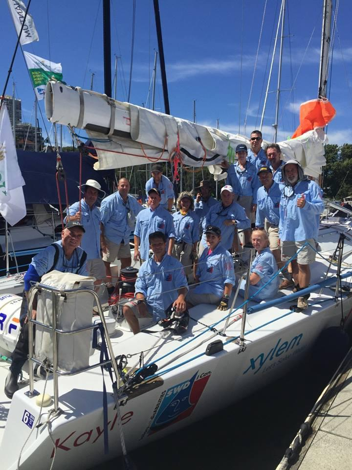 Day of RSHYR crew CYCA