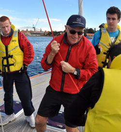 Malcolm Turnbull and MWF volunteers