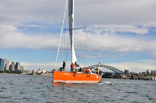 Kayle racing yacht sailors with disabilities