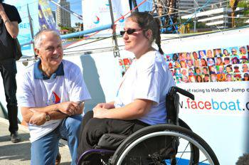 sailors with disabilties and Malcolm Turnball